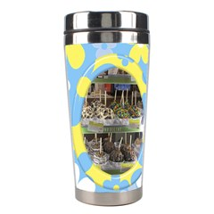 Sunshine Stainless Steel Travel Tumbler By Deborah   Stainless Steel Travel Tumbler   7uhtoimh282y   Www Artscow Com Right