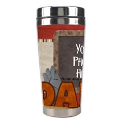 Dad Tumbler 2 By Lisa Minor   Stainless Steel Travel Tumbler   S9z3attryj8j   Www Artscow Com Left