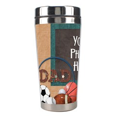Dad Tumbler 3 By Lisa Minor   Stainless Steel Travel Tumbler   Yvohb4c7o7b9   Www Artscow Com Left