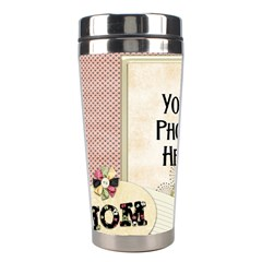 Mom Tumbler 1 By Lisa Minor   Stainless Steel Travel Tumbler   E9y2huidgqrq   Www Artscow Com Left