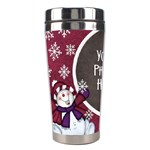 5 little snowman tumbler - Stainless Steel Travel Tumbler