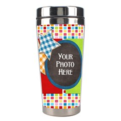 Carnival Tumbler 1 By Lisa Minor   Stainless Steel Travel Tumbler   0sca69r8aizu   Www Artscow Com Right
