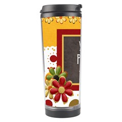 Tangerine Breeze Tumbler P1 By Lisa Minor   Travel Tumbler   Jue562kobm07   Www Artscow Com Left
