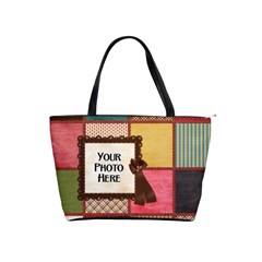 Thoughts Of Friendship Handbag 1 By Lisa Minor   Classic Shoulder Handbag   8406an6tct1z   Www Artscow Com Front