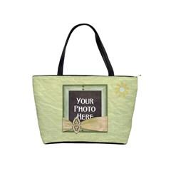 365 August Handbag 2 By Lisa Minor   Classic Shoulder Handbag   O2sas73izm6m   Www Artscow Com Front