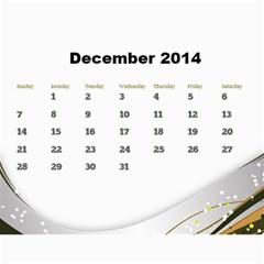 Janine 2014 Calendar By Deborah   Wall Calendar 11  X 8 5  (12 Months)   7dgrackpv0qv   Www Artscow Com Dec 2014