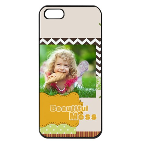 Kids By Kids   Apple Iphone 5 Seamless Case (black)   8nw49t12mmho   Www Artscow Com Front