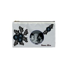 Cosmetic Bag (small)   Flourishes By Jennyl   Cosmetic Bag (small)   R3out7zjva9o   Www Artscow Com Front