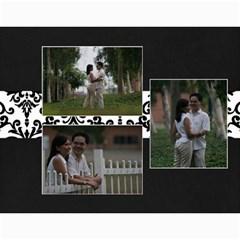 Wall Calendar 11 X 8 5    B/w A Love Story By Jennyl   Wall Calendar 11  X 8 5  (12 Months)   Uvejrp434oy3   Www Artscow Com Month