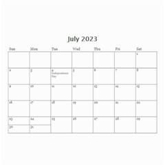 Wall Calendar 8 5 X 6   B/w   A Love Story By Jennyl   Wall Calendar 8 5  X 6    819r06oub0bj   Www Artscow Com Jul 2016