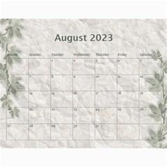 Nature Green 12 Month Wall Calendar By Lil    Wall Calendar 11  X 8 5  (12 Months)   D3oxkd5706s5   Www Artscow Com Aug 2015