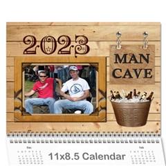 Man Cave 12 Mth Calendar By Lil    Wall Calendar 11  X 8 5  (12 Months)   5tczyw0bdq79   Www Artscow Com Cover
