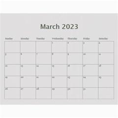 Man Cave 12 Mth Calendar By Lil    Wall Calendar 11  X 8 5  (12 Months)   5tczyw0bdq79   Www Artscow Com Mar 2014