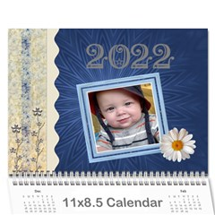 Fun And Pretty Calendar (12 Month) By Lil    Wall Calendar 11  X 8 5  (12 Months)   5p022w16prlp   Www Artscow Com Cover