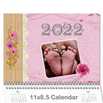 Pretty Love Calendar (12 Month) - Wall Calendar 11  x 8.5  (12-Months)