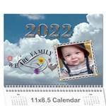 Family Sunset Calendar (12 Month) - Wall Calendar 11  x 8.5  (12-Months)