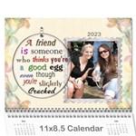 Forever Friends 12 Month Calendar - Wall Calendar 11  x 8.5  (12-Months)