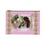 Pink Treasure Cosmetic Bag (large)