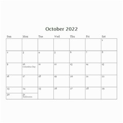 Love By Ki Ki   Wall Calendar 8 5  X 6    St7ud6qejjoy   Www Artscow Com Oct 2014