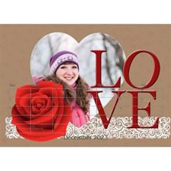 Love By Ki Ki   Desktop Calendar 8 5  X 6    Rf1lberr7ii7   Www Artscow Com Dec 2014