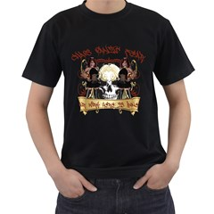 Chaos Panic Fear Our Work Here Is Done Mens' T Shirt (black)
