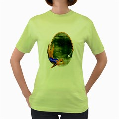 Even Heroes Gotta Eat Womens  T Shirt (green) by Contest1732250