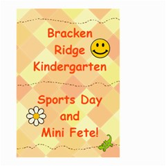 Kindy Sign By Jenny   Small Garden Flag (two Sides)   Abrrz7jhmpil   Www Artscow Com Front