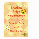 Kindy Sign - Small Garden Flag (Two Sides)