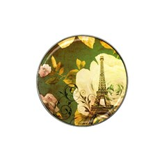 Floral Eiffel Tower Vintage French Paris Golf Ball Marker 10 Pack (for Hat Clip) by chicelegantboutique