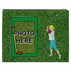 Golf Xxxl Cosmetic Bag By Joy Johns   Cosmetic Bag (xxxl)   Qi3hcpf1zn6c   Www Artscow Com Back