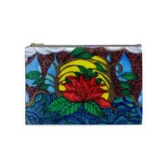 A Rose Cosmetic Bag (Medium) by JacklyneMae