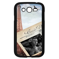 French Postcard Vintage Paris Eiffel Tower Samsung I9082(galaxy Grand Duos)(black) by chicelegantboutique