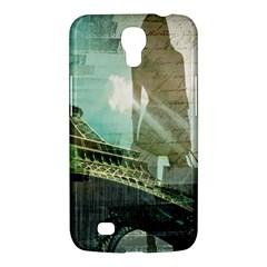 Modern Shopaholic Girl  Paris Eiffel Tower Art  Samsung Galaxy Mega 6 3  I9200 by chicelegantboutique