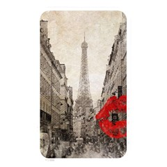 Elegant Red Kiss Love Paris Eiffel Tower Memory Card Reader (rectangular) by chicelegantboutique
