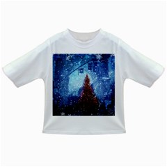 Elegant Winter Snow Flakes Gate Of Victory Paris France Baby T Shirt by chicelegantboutique