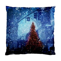 Elegant Winter Snow Flakes Gate Of Victory Paris France Cushion Case (single Sided)  by chicelegantboutique