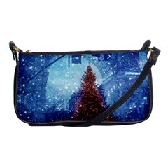 Elegant Winter Snow Flakes Gate Of Victory Paris France Evening Bag by chicelegantboutique
