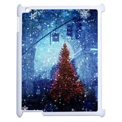 Elegant Winter Snow Flakes Gate Of Victory Paris France Apple Ipad 2 Case (white) by chicelegantboutique