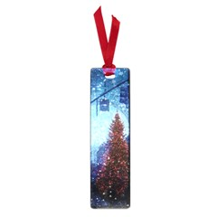 Elegant Winter Snow Flakes Gate Of Victory Paris France Small Bookmark by chicelegantboutique