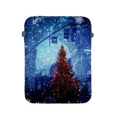 Elegant Winter Snow Flakes Gate Of Victory Paris France Apple Ipad 2/3/4 Protective Soft Case by chicelegantboutique