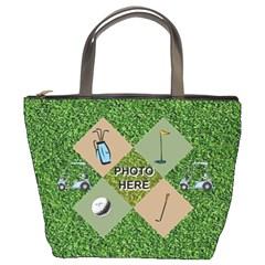 Golf Bucket  Bag By Joy Johns   Bucket Bag   Rnyz20od8fht   Www Artscow Com Front