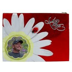 Love Xxl Cosmetic Bag By Joy Johns   Cosmetic Bag (xxl)   Ubtcg8qwcr7f   Www Artscow Com Back