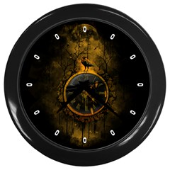 Time Is Gold Wall Clock (black) by Contest1733642