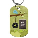 At the Park 2 sided Dog Tag 2 - Dog Tag (Two Sides)