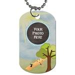 At the Park 2 Sided Dog Tag 1 - Dog Tag (Two Sides)