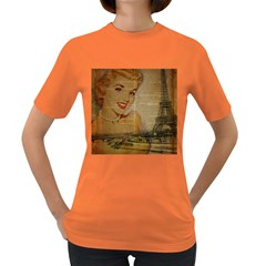Yellow Dress Blonde Beauty   Womens' T Shirt (colored) by chicelegantboutique
