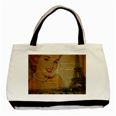 Yellow Dress Blonde Beauty   Classic Tote Bag by chicelegantboutique