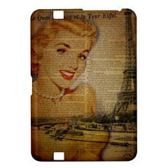 Yellow Dress Blonde Beauty   Kindle Fire Hd 8 9  Hardshell Case by chicelegantboutique