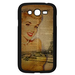 Yellow Dress Blonde Beauty   Samsung I9082(galaxy Grand Duos)(black) by chicelegantboutique