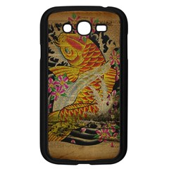 Funky Japanese Tattoo Koi Fish Graphic Art Samsung I9082(galaxy Grand Duos)(black) by chicelegantboutique